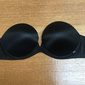 Victoria secret strapless bra 34D black